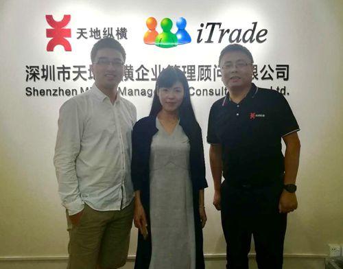 动态 | 中国国际贸易单一窗口国家版专家莅临天地纵横交流
